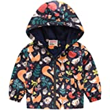 Toddler Boys Light-Weight Down Jacket Winter Jacket Hooded Thickened Warm Snowsuit Coat Parka Outerwear Christmas Vests