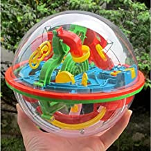 SINEDY 100 Barriers Funny 3D Puzzle Maze Ball