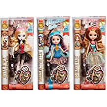 Ever After High Mirror Beach Doll Set of 3 - Madeline Hatter, Ashlynn Ella & Apple White
