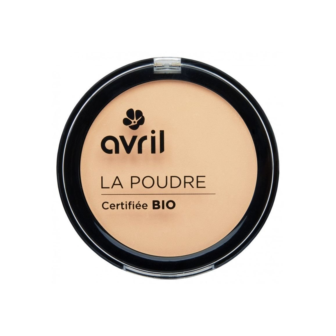 Avril Organic Pressed Powder Compact Foundation - Porcelaine BHBAZUSF0518A4046