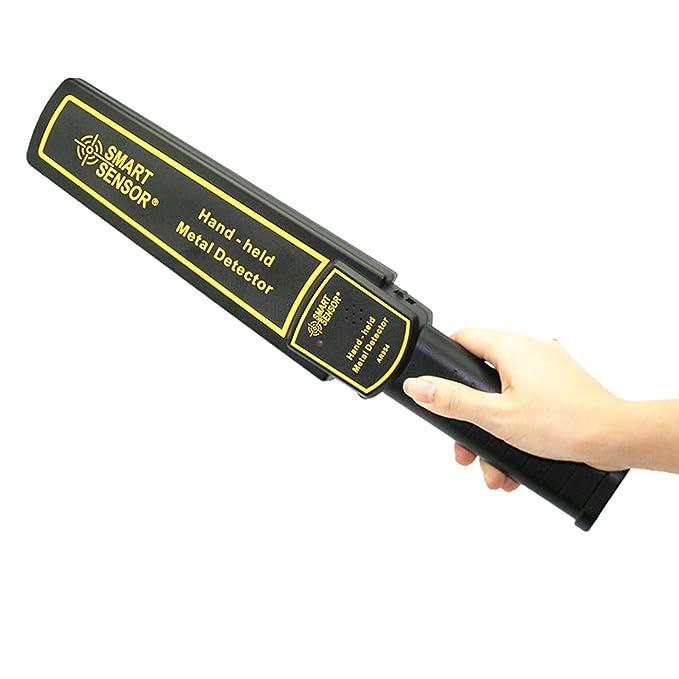 Detector de metales de mano Detector de metales de alta sensibilidad Scanner Hunter Tool Sensor inteligente de vibración AR954: Amazon.es: Bricolaje y ...