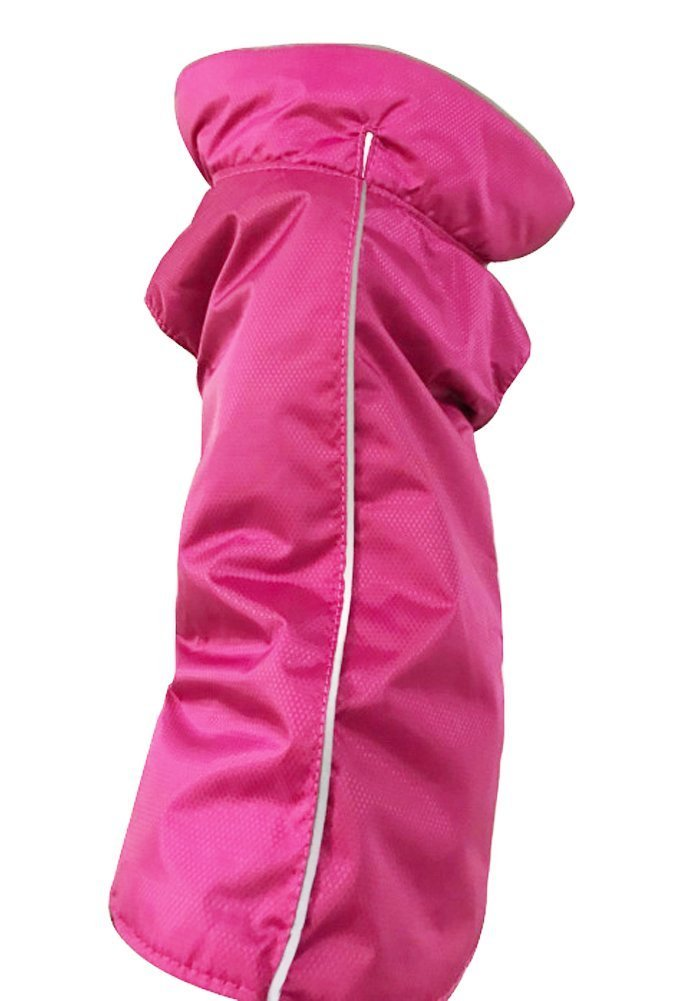 Suitable for Rainy Snowing Weather S, Rose Rantow Waterproof Windproof Snowproof Nylon Sport Dog Clothes Pet Dog Jacket Dog Coat Vest for Small Medium Large Dogs