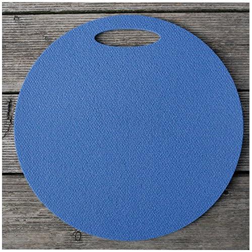 Coussin en mousse Siège Sous-main avec poignée 35cm bleu