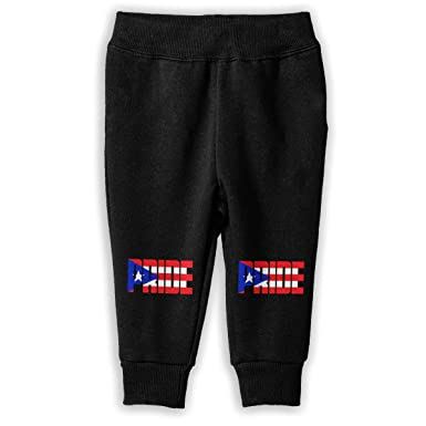 Soft Cozy Girls Boys Jogger Play Pant Udyi/&Jln-97 Puerto Rican Pride Kids /& Toddler Pants