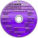 Ultimate Boot CD-DVD NEUE VERSION (NEU) / Notfall-CD-DVD für Windows 10 , Windows 8+7, Vista, XP Betriebssysteme System-Diagnose Tools
