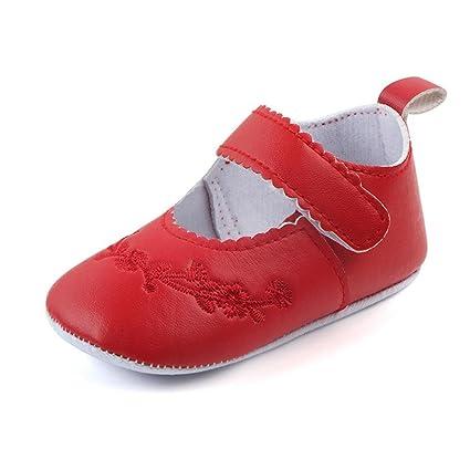 9fa9b04e3 Zapatos De Bebé Zapatillas de Deporte de bebé recién Nacido Patucos  Primeros Pasos Zapato de Cuero