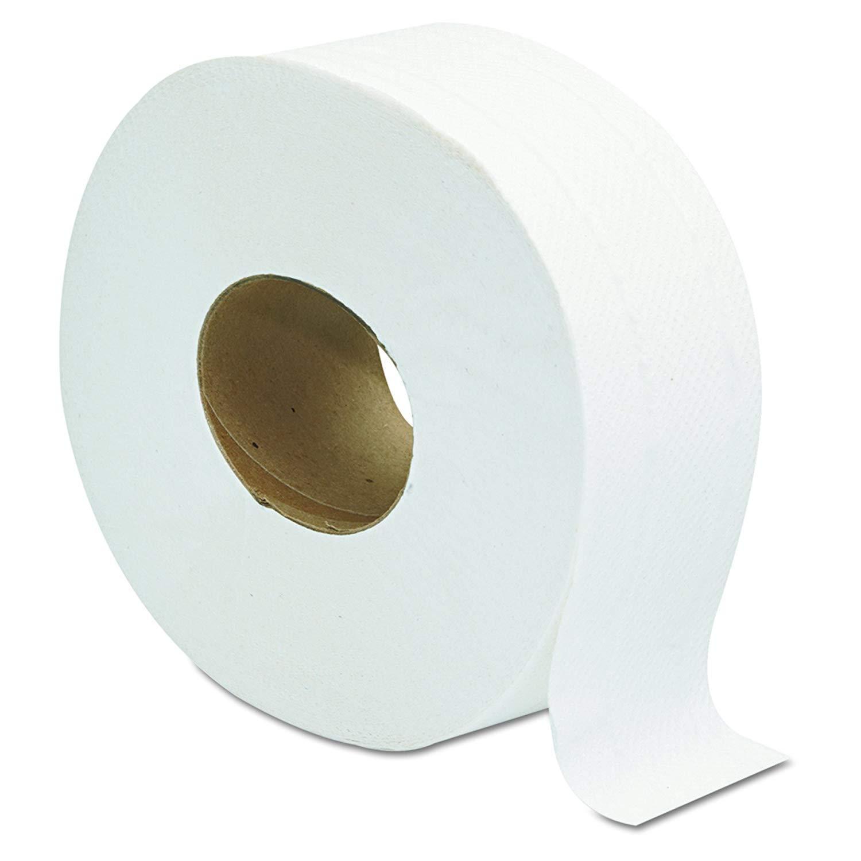 Jumbo JRT Ultra Bath Tissue, DDI-5206, 2-Ply, White, 9 in Diameter (Case of 32 Rolls) (Case of 32 Rolls)