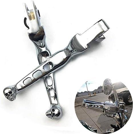 CNC Chrome Clutch Brake Levers For Harley-Davidson XL//Dyna//Touring//Softail
