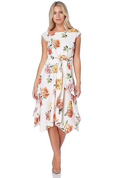 Roman Originals Vestido - para Mujer Beige 42