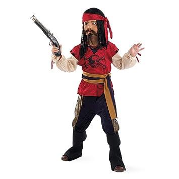 Limit Sport - Disfraz de pirata corsario para niño (MI498 ...