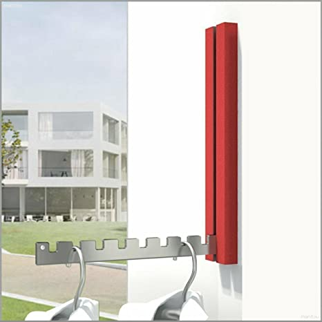 Ancla de perchero Odin Pi en rojo - Ancho 50 mm, altura de ...