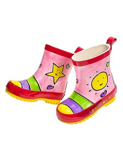 buy online f86fc 2e13e maximo 93203-891300 Kinder Gummistiefel Stiefeletten Sonne Kurzstiefel