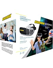 VR Headsets for Children + Game to Learn Spanish, French… Stem Toys. Kids Gifts for Boys and Girls for Age 5 6 7 8 9 10 11 12 Years Old. Educational