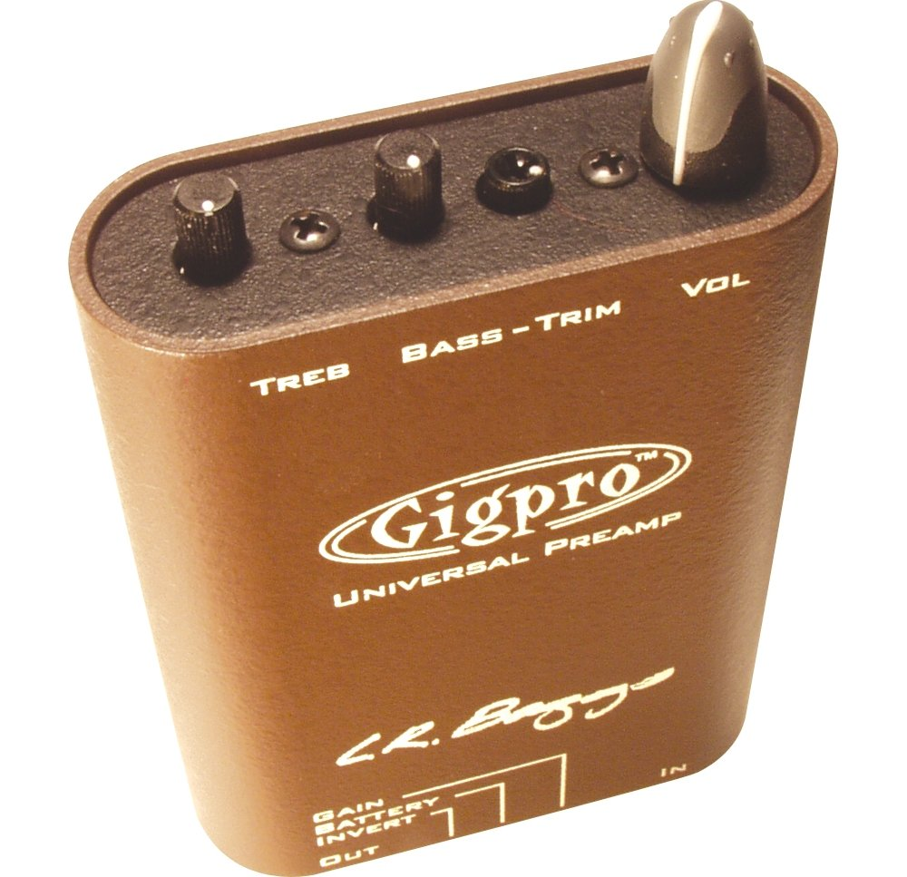 LR Baggs Beltclip Preamp with 3 Band EQ Gigpro
