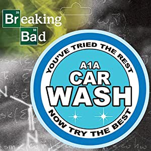Breaking bad st brba a1a decal a1a car wash for A1a facial salon equipment