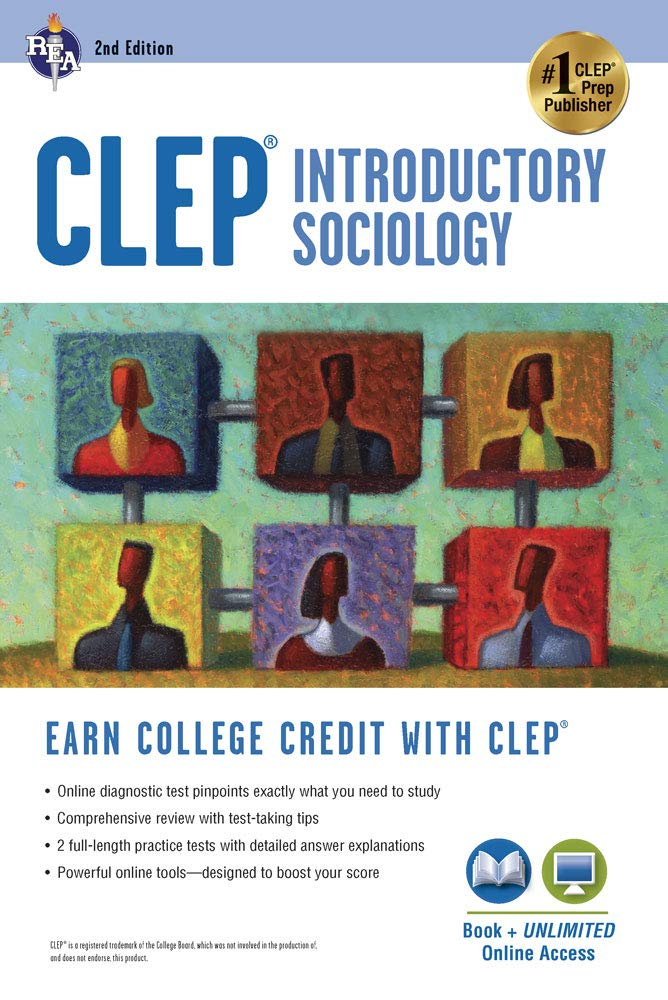 CLEP® Introductory Sociology Book + Online