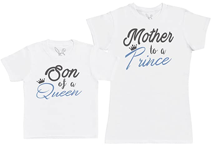 Son of A Queen, Mother to A Prince - Kids Gift Set with Kids T