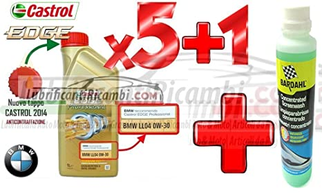 Castrol aceites de motor 5W30 Edge FST para coche, 5 L (4 litros 1