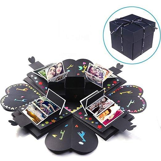 Álbum de fotos Caja Cuadrilátero hexagonal Caja de sorpresa ...