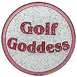 Navika Golf Goddess Glitzy Ball Marker with Hat Clip