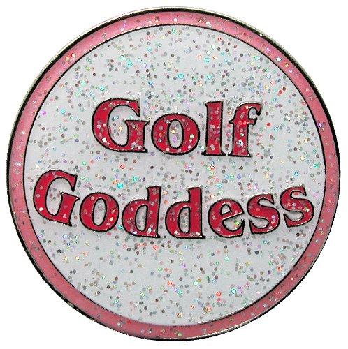 Goddess Clip - Navika Golf Goddess Glitzy Ball Marker with Hat Clip