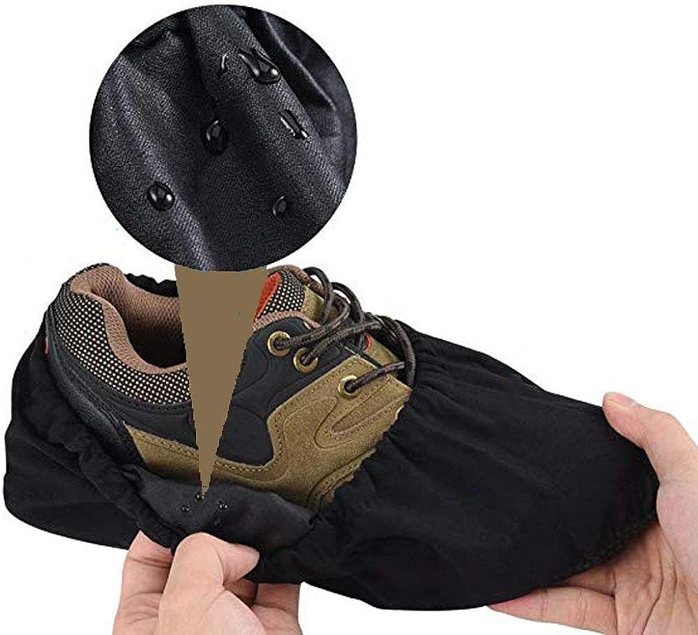 Prot/ège Les Sols Lavables Patin Antiderapant Couvre Chaussures Les Tapis et Les Chaussures SENDILI Surchaussures Reutilisable
