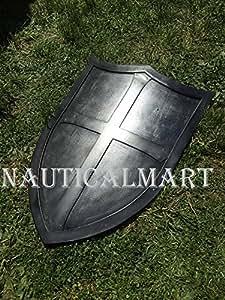 NauticalMart Medieval Renaissance Armor heater shield LARP WASTER 18g