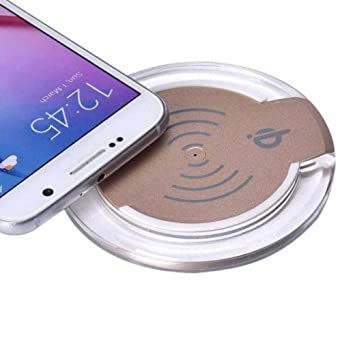 Amazon.com: Cargador inalámbrico Qi carga Pad para Samsung ...