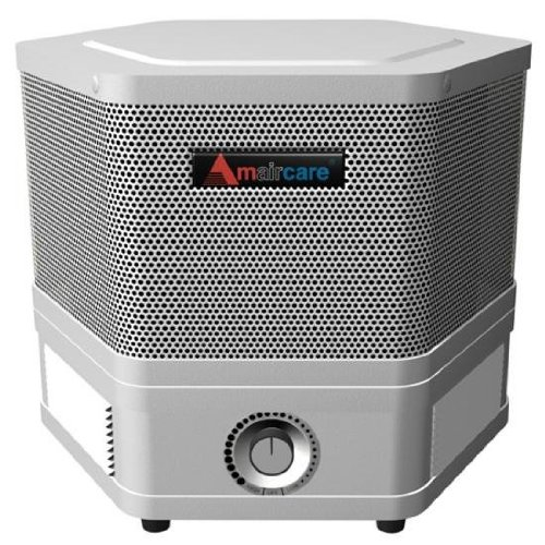Amaircare 2501101 2500 Portable HEPA Filtration System in White with Variable Speed Control