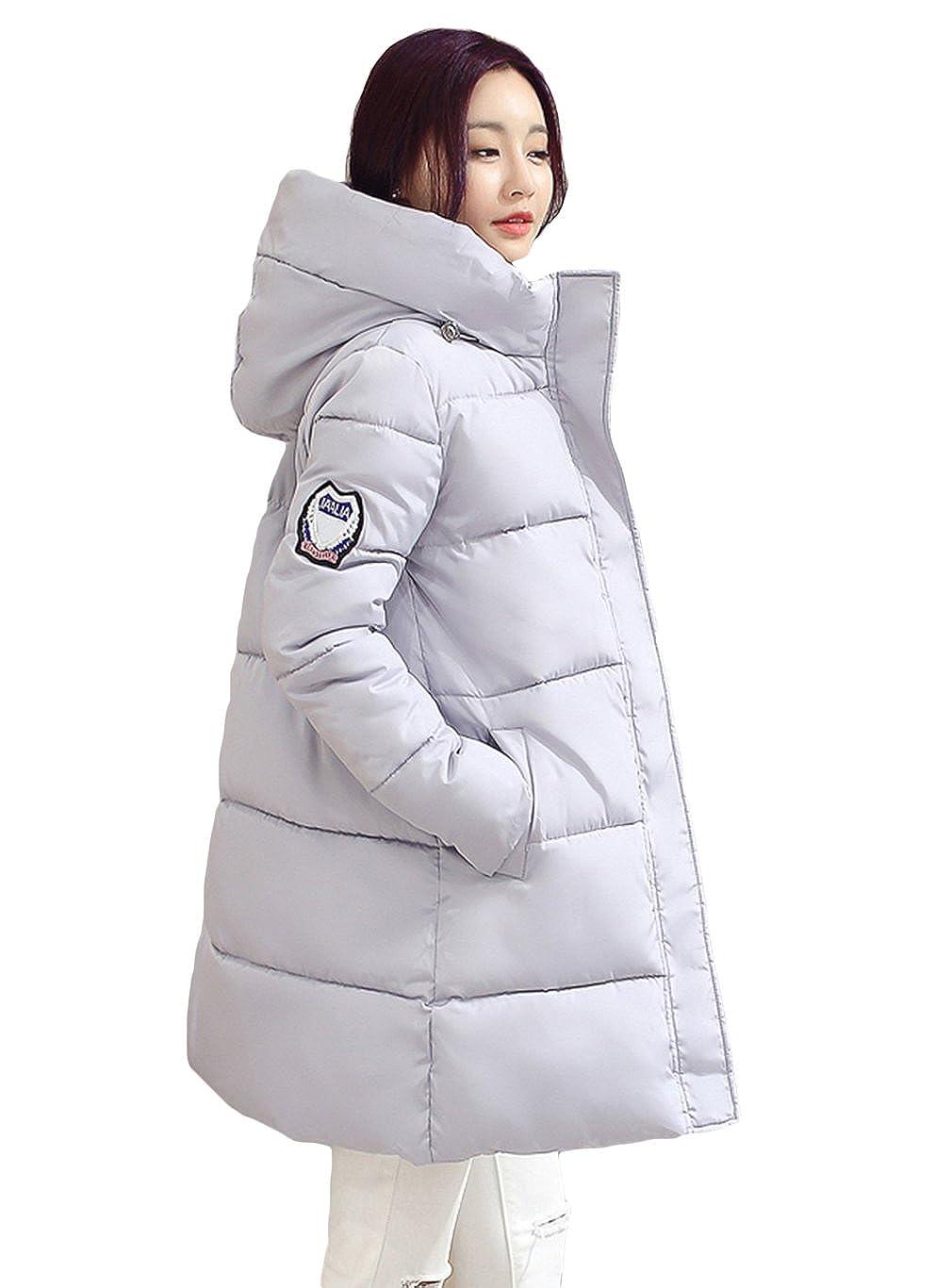 Légère Manteau Épaissir Veste Pelisse Doudoune BOA Long Y Capuche Mi Fqf1gwU