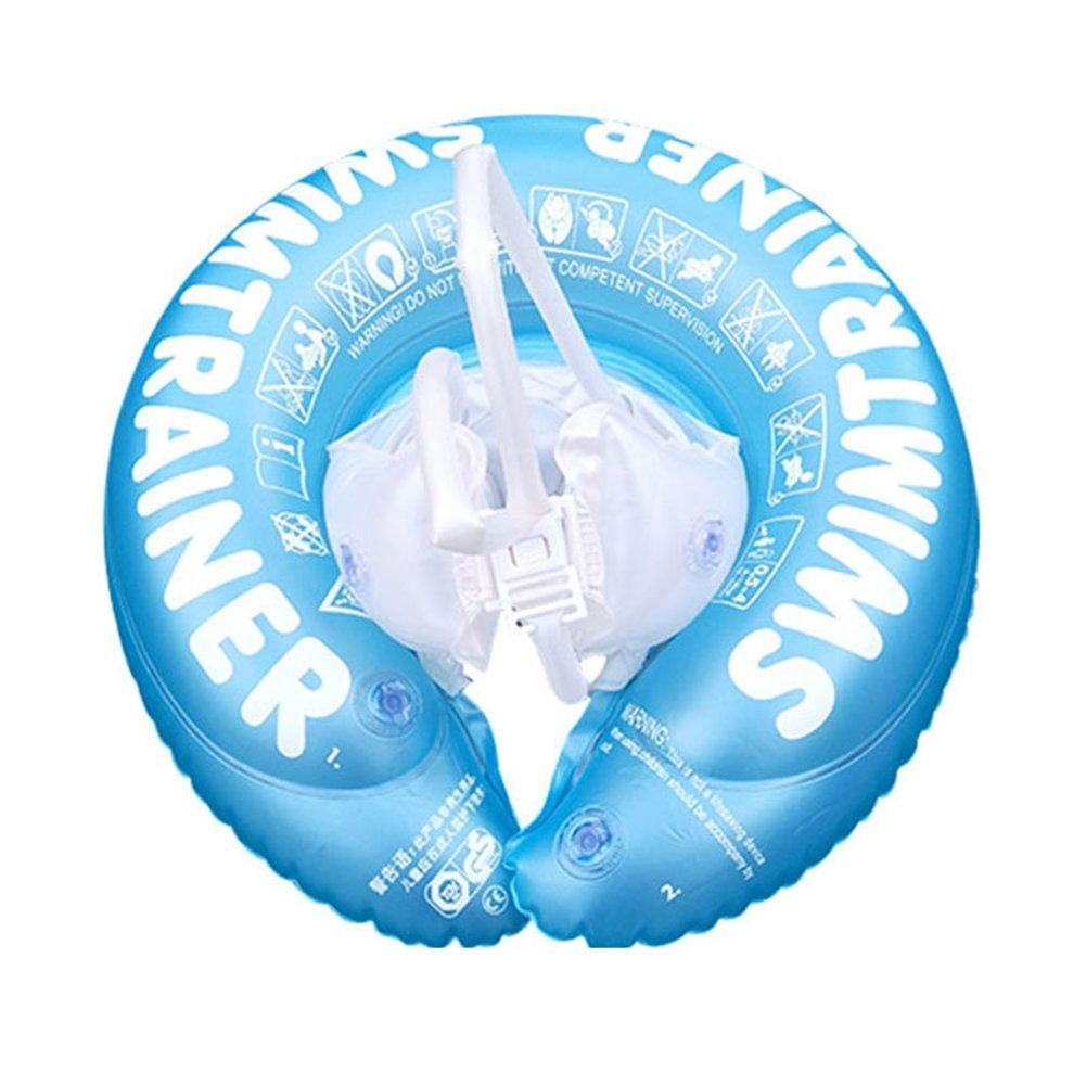 Faironly Baby Bouée de Natation Gonflable en PVC avec Ceinture de sécurité Flottante