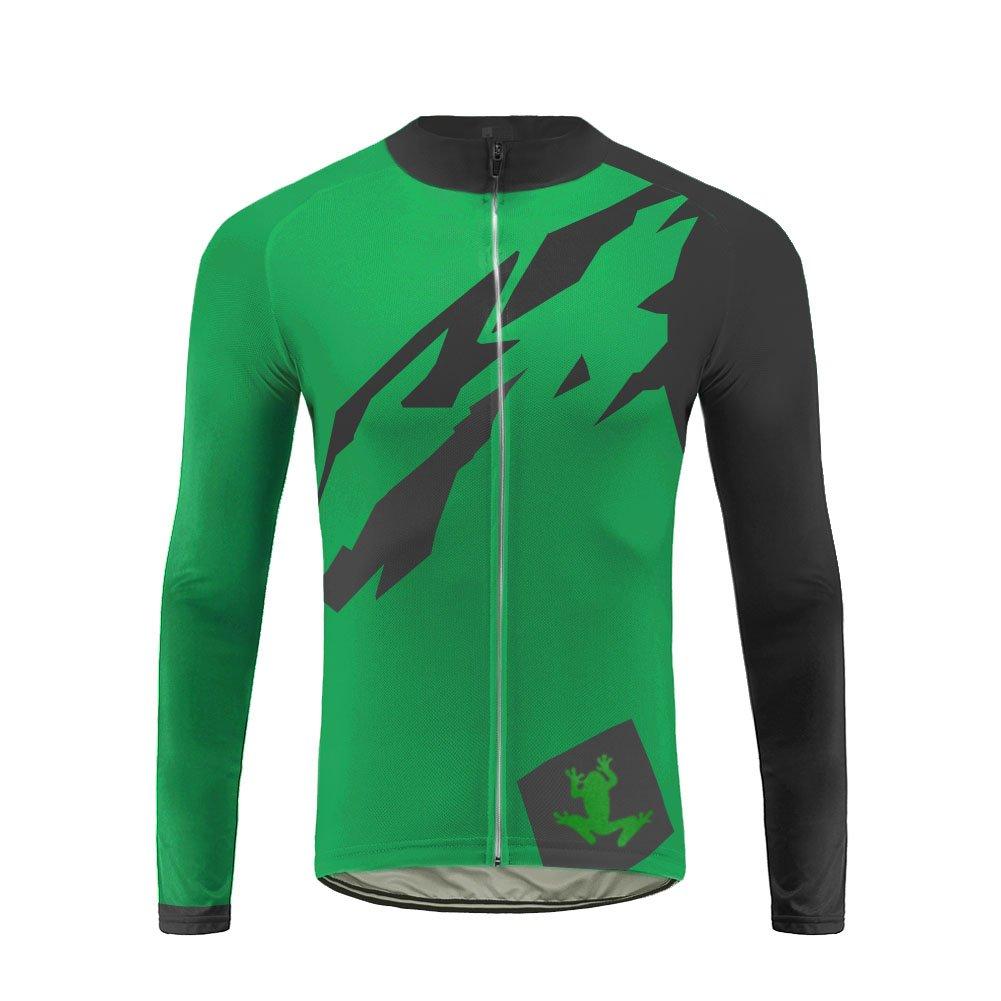 Uglyfrog HSCX02 2018-2019 Frühling Herbst Fahrradtrikot Langarm Shirt Herren Breathable Radfahren Fahrrad Lange Hülsen Jersey Fahrrad Hemd Männer/Lange Hosen/Fahrradbekleidung Set