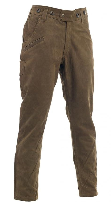 Deerhunter ESTRASBURGO Botas de cuero pantalones - marrón - DH 551 - Marrón, 46 (