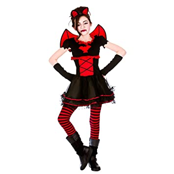 xl girls little vamparina halloween costume for fancy dress childrens kids childs extra large