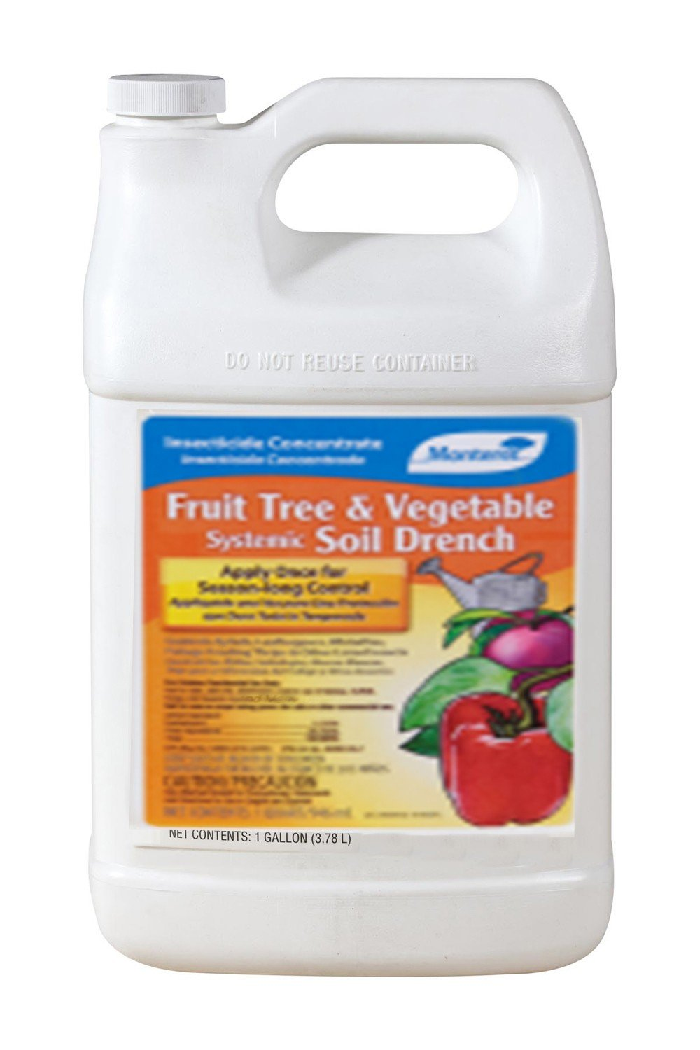 Monterey Fruit Tree & Vegetable Systemic Soil Drench 1gal by Monterey