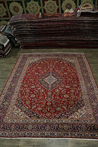 - Admin Rugs Love S Antique Handmade Red Kashan Persian Style Wool Rug Oriental Area Carpet 10X13