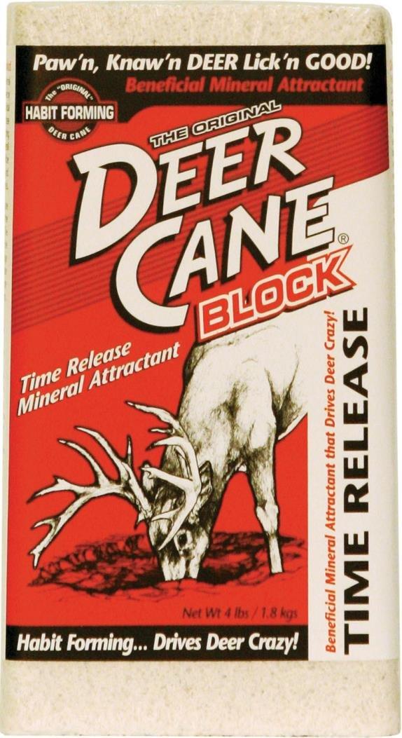 DEER CANE BLOCK - 4 POUND