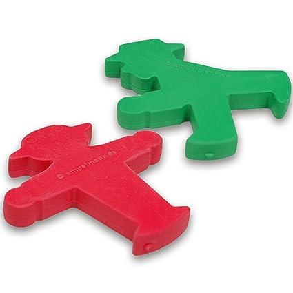 Goma de borrar rojo o verde semáforo macho + el regalo + Ostprodukte - DDR producto