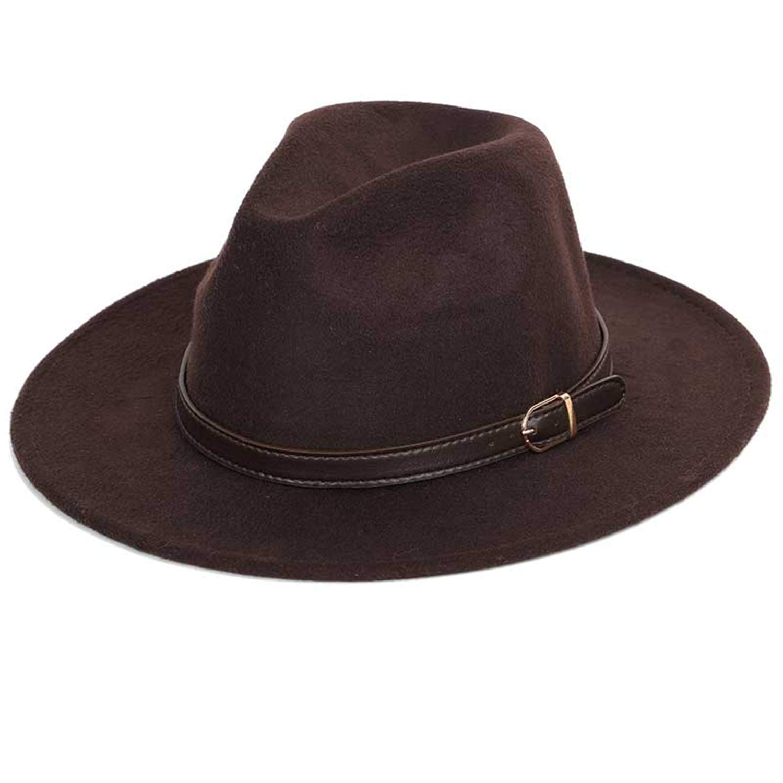 Cappelli Fedora Thinkin Top Cappello A Tesa Larga Vintage ...