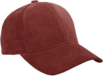 aa573bd3 Emstate Genuine Suede Leather Unisex Baseball Caps Made in USA
