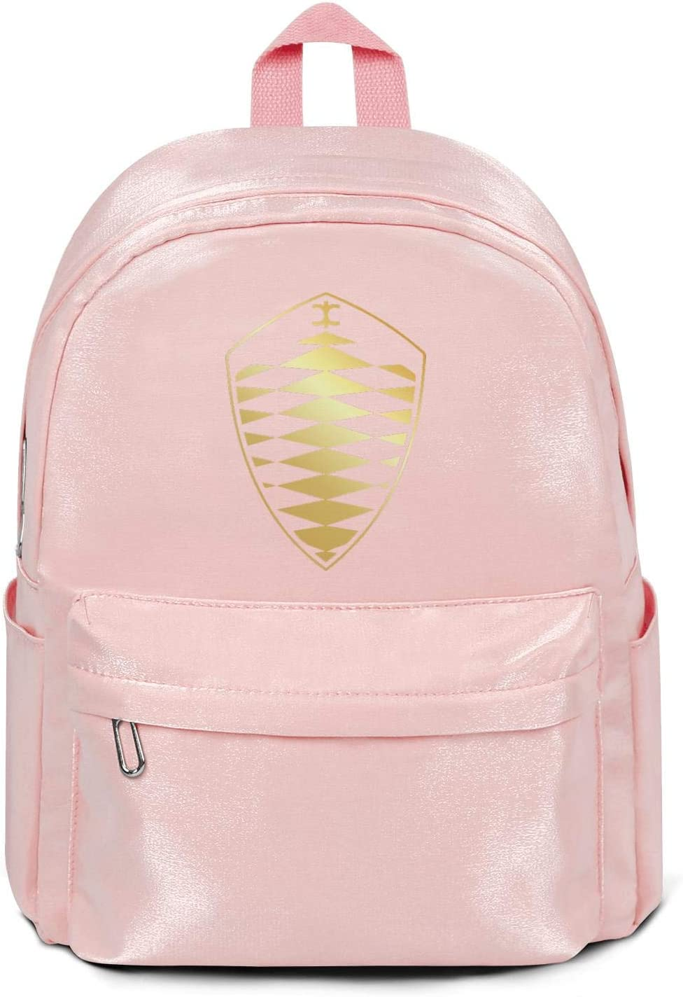 Womens Girl Boys Bag Casual Nylon Lightweight 13 Inch Laptop Compartment Backpack Bag Purse Pink Koenigsegg-Flash-gold-agera-model-car