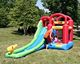 Inflatable Bounce House and Water Slide Wet or