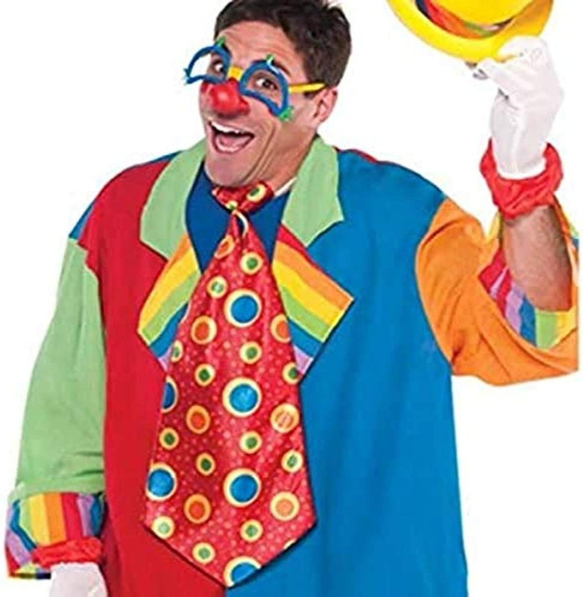 Smiffys 47003 Clown Braces One Size