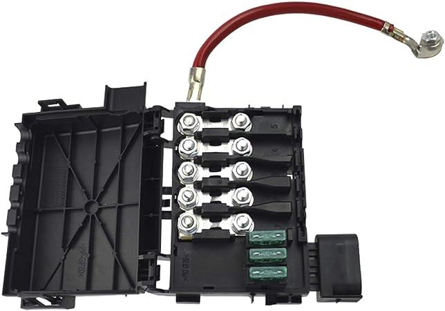Amazon.com: runmade Fuse Box Battery Terminal Compatible with VW 1999 2000  2001 2002 2003 2004 Jetta Golf MK4: Automotive   2003 Jetta Battery Fuse Box      Amazon.com