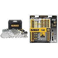 Deals on 205-Pcs DEWALT Mechanics Tool Set & 40-Pcs Screwdriver Bit Set