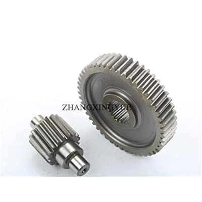 scooter 49-17t Performance Final Drive Gear GY6 50cc 139QMB Chinese Engine Spare Parts : Sports & Outdoors