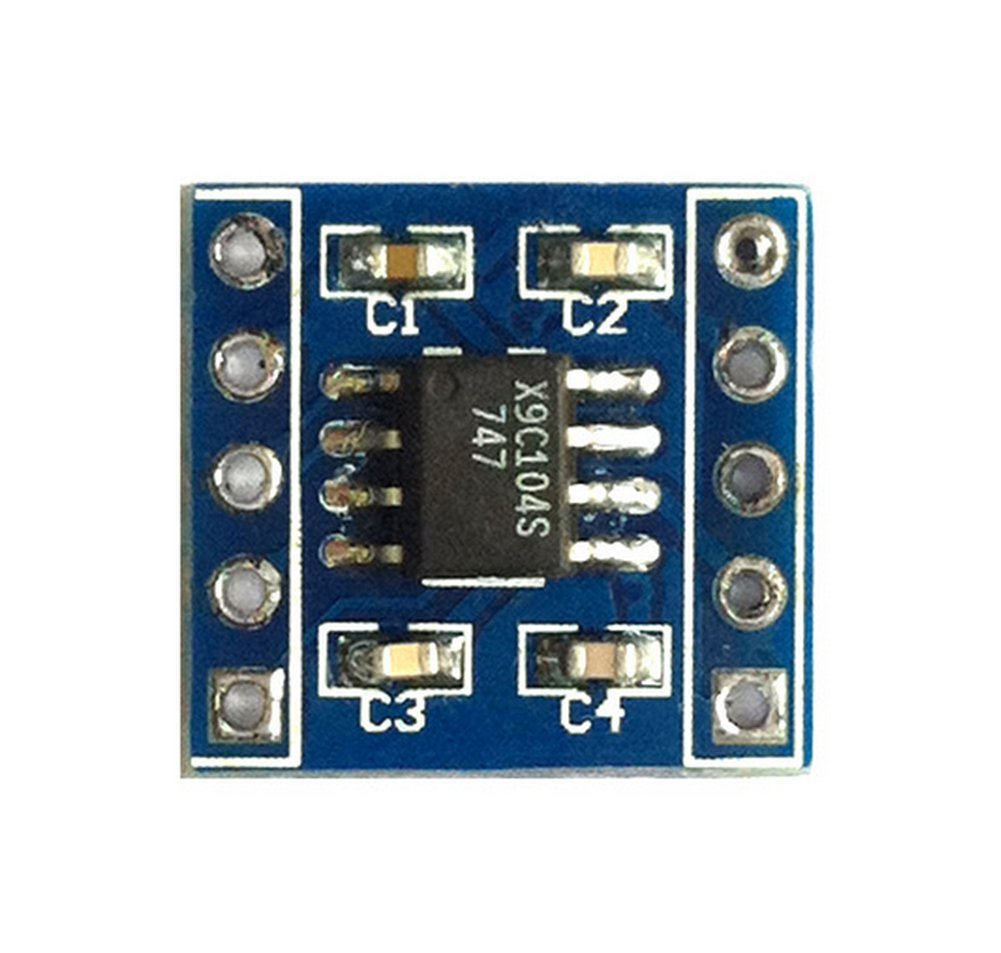 Dosige X9C104 Digitales Potentiometermodul f/ür Arduino