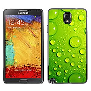 Hot Style Cell Phone PC Hard Case Cover // M00102427 green nature bubbles // Samsung Galaxy Note 3
