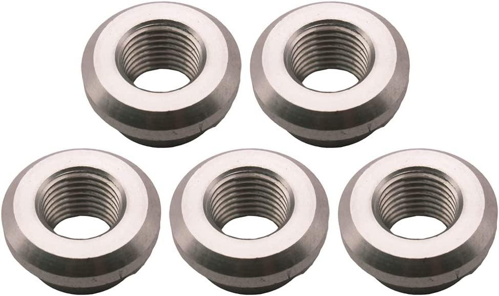Prettyia 1//4 NPT FEMALE STAINLESS STEEL WELD on//WELD at FITTING BUNG