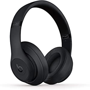 Beats Studio3 Wireless Headphones - Matte Black (Renewed)